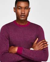 Interest Stitch Wool-blend Jumper