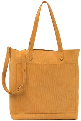 Madewell Leather Medium Transport Tote