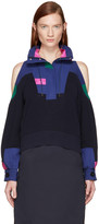 Sacai Navy Knit Pullover
