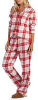 UGG Raven Plaid Two-Piece Pajama Pants & Shirt Set