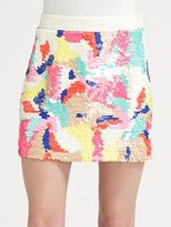 Begonia Sequined Skirt