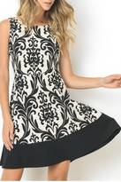 Gilli Black Paisely Dress