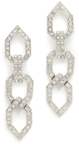 Kenneth Jay Lane Open Link Drop Earrings