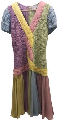 Fontana Milano Silk Dress for Women