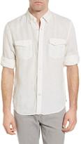 Timberland Mill River Linen Regular Fit Cargo Shirt