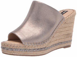 Karl Lagerfeld Paris Women's Slip on Wedge Sandal