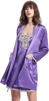 LILYSILK Silk Ladies Nightgown and Robe Sets M