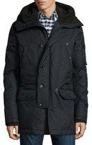 Spiewak Tech N3-B Snorkel Hooded Coat, Black