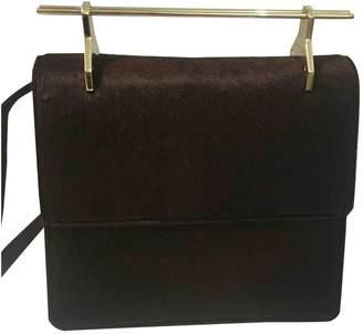 M2Malletier Brown Leather Handbags