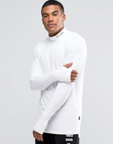 Nicce London Long Sleeve T-Shirt With Turtleneck