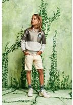 Scotch & Soda 5-Pocket Shorts With Paint Spots