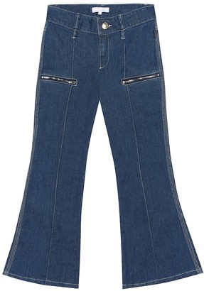 Chloé Kids Flared jeans