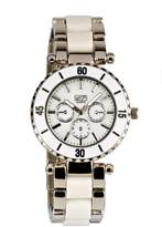 Eton Women's Quartz Watch with Dial Analogue Display and Bracelet 2937J-WT