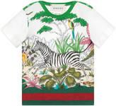 Gucci Baby Savannah print cotton t-shirt
