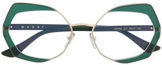 Cat Eye Marni Eyewear frame optical glasses