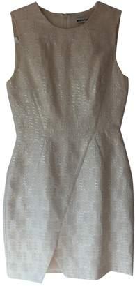 Whistles Ecru Cotton Dress for Women