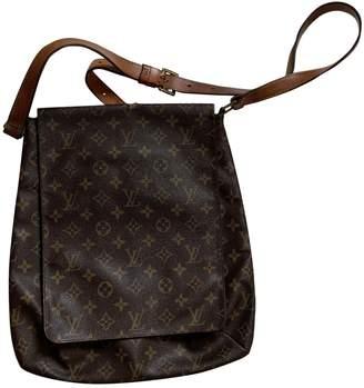 Louis Vuitton Salsa Beige Cloth Handbags