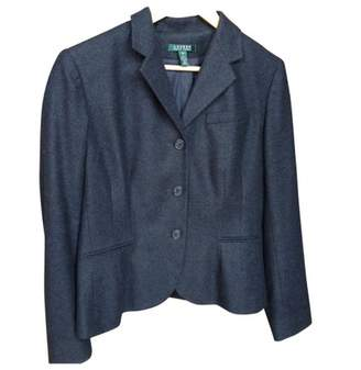 Lauren Ralph Lauren Anthracite Wool Jacket for Women