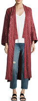 Elizabeth and James Tracey Wide-Sleeve Robe Wrap Jacket