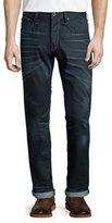 G Star G-Star Tapered-Leg Condor Denim Jeans, Dark Blue