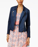 Thalia Sodi Denim Moto Jacket, Only at Macy's