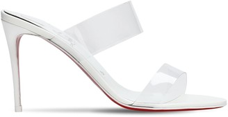 Christian Louboutin 85mm Just Nothing Plexi Sandals