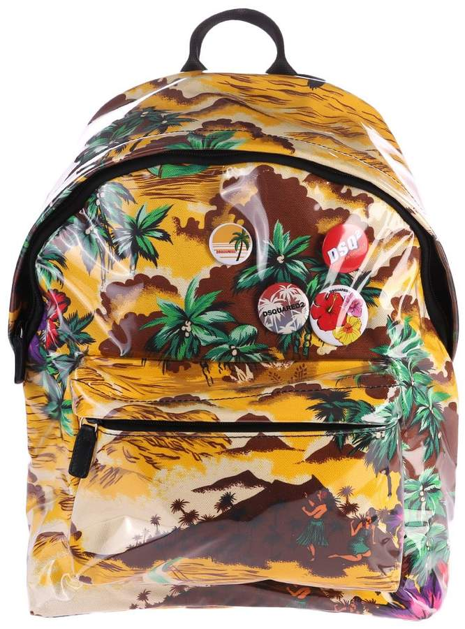 DSQUARED2 Multicolored Back Pack