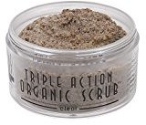 Sonya Dakar Triple Action Organic Scrub - Clear 3 oz. by Beauty] by
