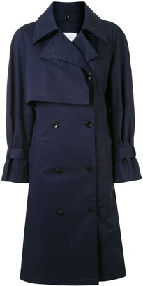 Proenza Schouler White Label Belted Trench Coat