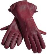 Heine Raised Seam Detail Leather Gloves