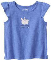 """Baby Girl Jumping Beans® """"Some Bunny Loves Me"""" Slubbed Tee"""