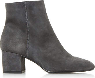 Dune Ladies Grey Olyvea Suede Ankle Boots