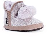 Muk Luks Women's Pennley Sweater Bootie Slippers