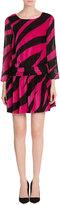 Moschino Zebra Print Mini Dress