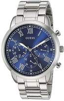 GUESS U1309G1 (Silver/Blue) Watches