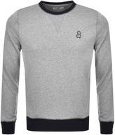Psycho Bunny Crew Neck Sweatshirt Grey