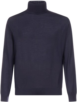 Prada Turtleneck Knitted Pullover