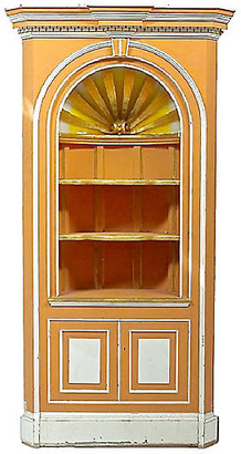 One Kings Lane Vintage George III-Style Corner Cabinet - Vermilion Designs