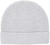 Reiss Reiss Holden - Cashmere Beanie Hat In Grey, Mens