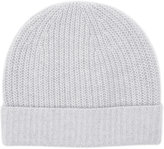 Reiss Reiss Holden - Cashmere Beanie Hat In Grey