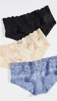 Cosabella Never Say Never Maternity Hotpant Panty Pack
