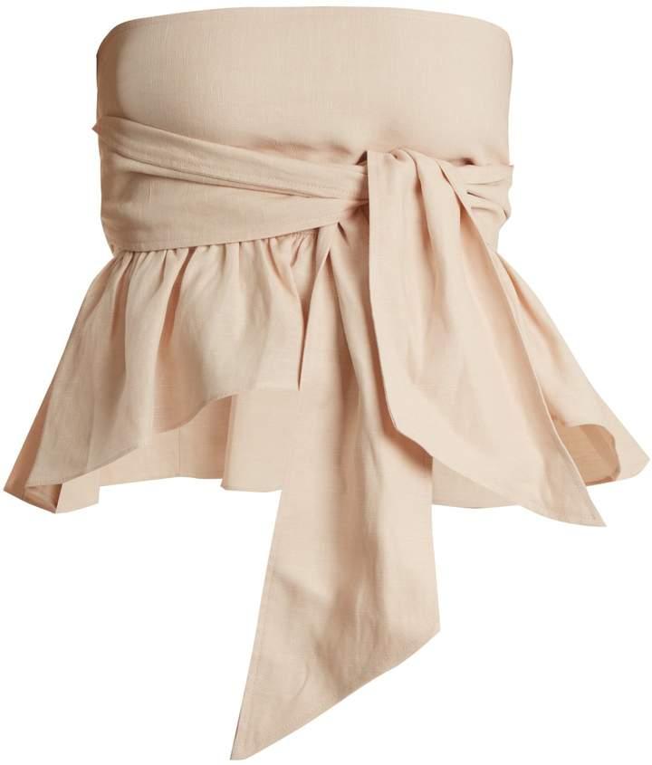 Apiece Apart Twyla convertible linen-blend top