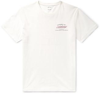 Holiday Boileau Logo-Print Cotton-Jersey T-Shirt