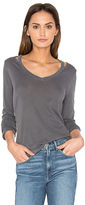 Splendid Vintage Whisper Long Sleeve Top in Gray. - size S (also in XS)