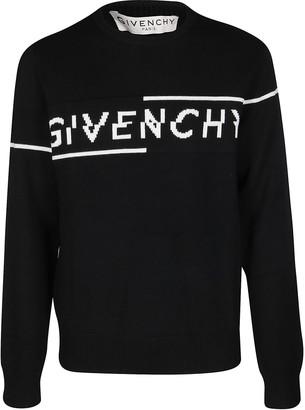 Givenchy Black Wool Jumper