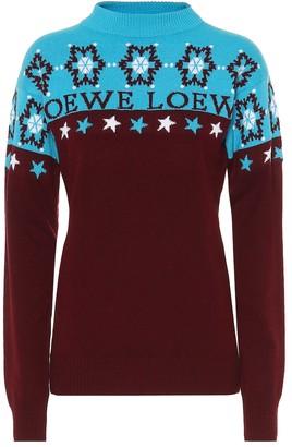 Loewe Snowflake wool sweater