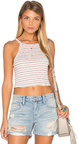 Nation Ltd. Winnie Stripe Crop Tank
