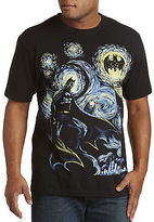 True Nation Abstract Batman Graphic Tee Casual Male XL Big & Tall