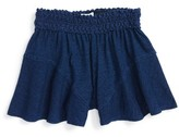 Splendid Girl's Lace Waist Shorts