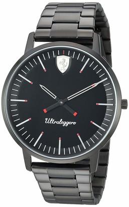 Ferrari Men's Ultraleggero Quartz Watch with Stainless-Steel Strap